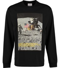 calvin klein jeans printed long-sleeve t-shirt