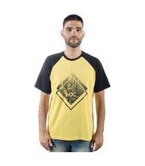 camiseta mxc brasil losango raglan