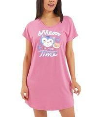 nite nite by munki munki meow is the time sleep shirt