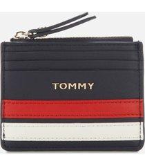 tommy hilfiger women's tommy staple credit card holder - sky captain
