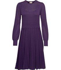 katarina jurk knielengte paars jumperfabriken