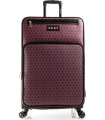 """dkny signature gems 29"""" spinner suitcase"""