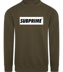 subprime sweater block army
