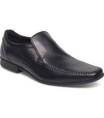 glement seam skor business svart clarks