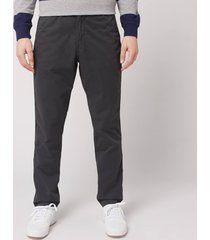 polo ralph lauren men's classic fit tapered prepster trousers - black mask - xl