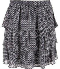 michael kors mini skirt with flounces