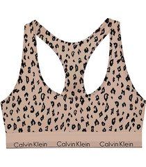 calvin klein bralette cheetah - jn6