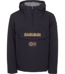 napapijri blue marine rainforest winter jacket n0ygnj176