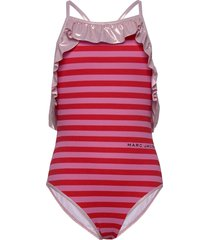 swimming costume badpak badkleding roze little marc jacobs