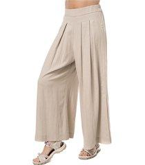 pantalon mujer handy linen beige lippi