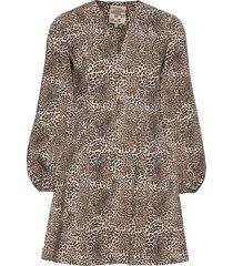 alivia kort klänning brun baum und pferdgarten