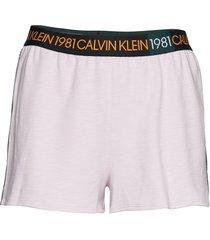 sleep short shorts rosa calvin klein