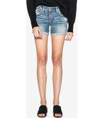 silver jeans co. sam denim boyfriend shorts