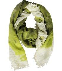 massimo alba fringed scarf