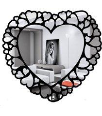 lustro dekoracyjne serca