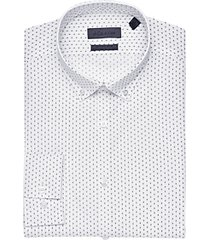 calvin klein black dot extreme slim fit dress shirt