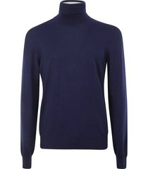 maison margiela turtleneck ribbed pullover