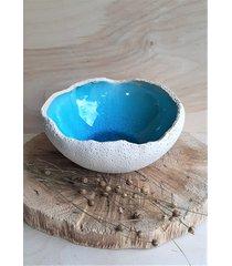 misa ceramiczna oko błękitu