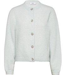 ezio sweater gebreide trui cardigan groen stylein