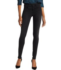 l'agence women's marguerite high-rise skinny jeans - cast iron - size 25 (2)