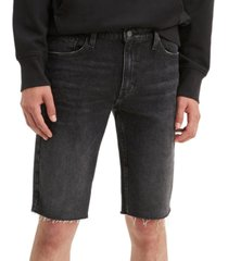 levi's men's 511 slim-fit long cutoff jean shorts