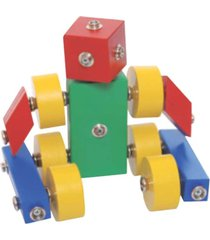brinquedo newart toys click formas multicolorido - multicolorido - dafiti