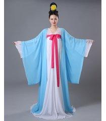 hot china tang women's dynasty fancy hanfu dance kimono dress cosplay costu