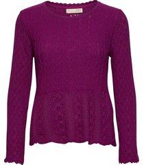 maureen sweater gebreide trui paars odd molly