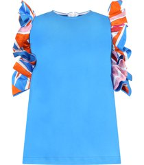 azure dress for babygirl