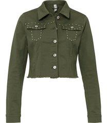 giacca con borchie (verde) - rainbow