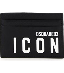 dsquared2 icon print card holder
