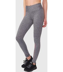 legging everlast long angel gris - calce ajustado