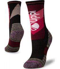 calcetin mujer trekking warm socks ab morado lippi