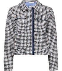 blazer long-sleeve blazers bouclé blazers blauw gerry weber