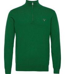 cotton wool half zip knitwear half zip jumpers grön gant