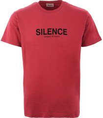 wood wood perry silence t-shirt - rose 5729-2061
