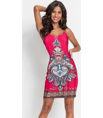 jurk met zomerse print