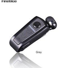 audifonos bluetooth, f910 auricular estéreo inalámbrico auriculares auriculares en el oído vibrador alerta usar el clip manos libres auricular para teléfono (gris)