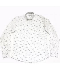 camisa blanca prototype marble