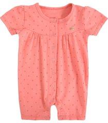 pijama bebê milon poá rosa