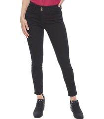 jeans color push up skinny negro  corona