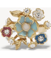 women's bouquet ring gold one size from sole society