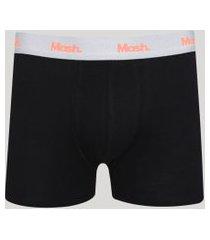cueca masculina mash boxer preto
