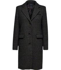 felina wool check coat