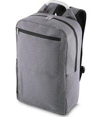 mochila para notebook topget tgm12  cinza escuro mesclado - kanui
