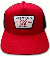 gorra roja mistral currice