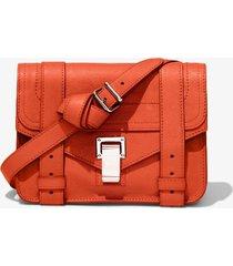 proenza schouler ps1 mini crossbody bag 820 tangerine tango/orange one size