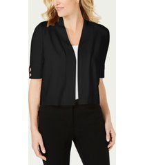 jm collection open-front toggle-sleeve cardigan, created for macys