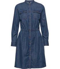 denim dress knälång klänning blå marc o'polo