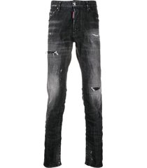 cool guy jeans with worn effect